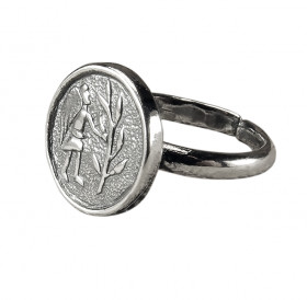 "Ring ""Angel Planting a Tree"""