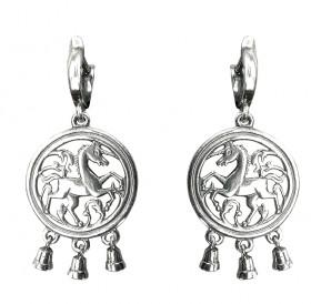 "Earrings ""Unicorns"""
