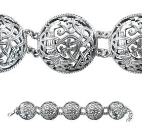 """Bracelet """"Unknown Beast"""". 5 links"""