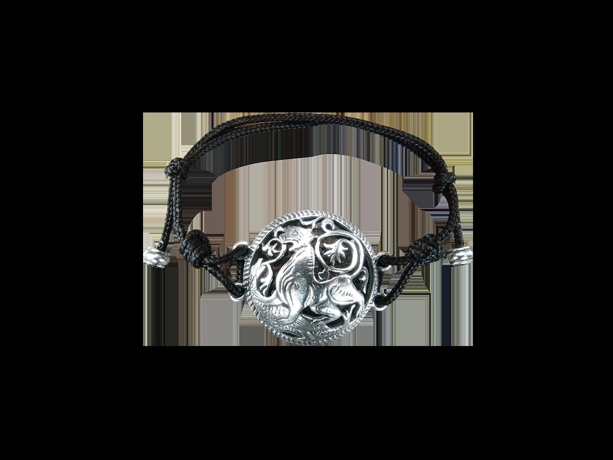 Браслет-шнурок «Суздальский лев»