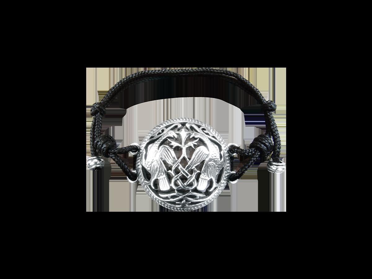 Браслет-шнурок «Суздальские ястребы»