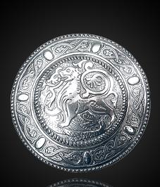 Фибула накладная «Суздальский лев»
